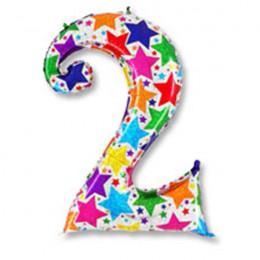 Цифра 2 дизайнерская