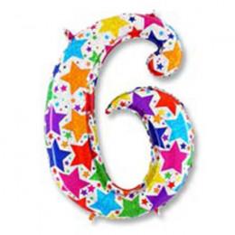 Цифра 6 Звезды