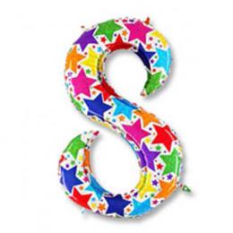 Цифра 8 дизайнерская