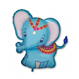 Слоник голубой