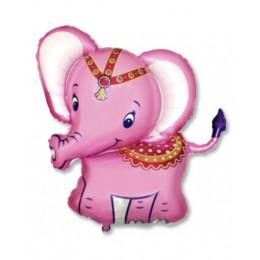 Слоник розовый