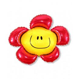 Солнечная улыбка красная