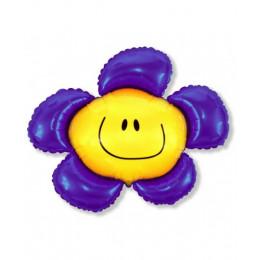 Солнечная улыбка фиолетовая
