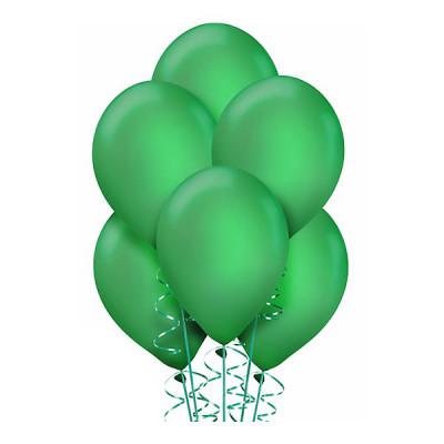 Зеленые шары металлик