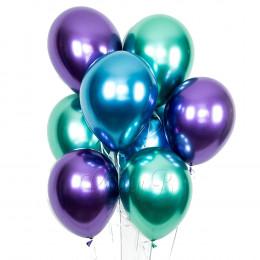 Хром Зеленый / Синий /Фиолетовый