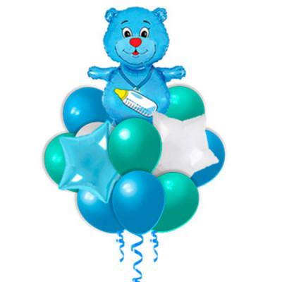 Букет Новорожденный мишка