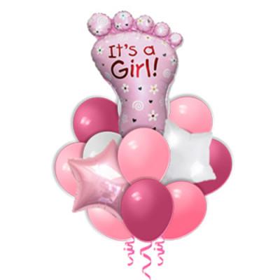 Букет Стопа для девочки