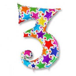 Цифра 3 Звезды