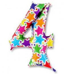 Цифра 4 Звезды