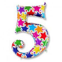 Цифра 5 Звезды