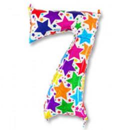Цифра 7 Звезды