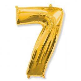 Цифра 7 Золото