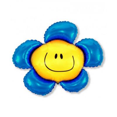 Солнечная улыбка синяя