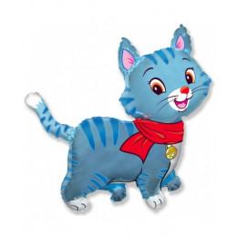 Кошечка синяя