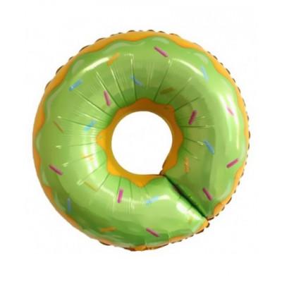 Пончик зеленый