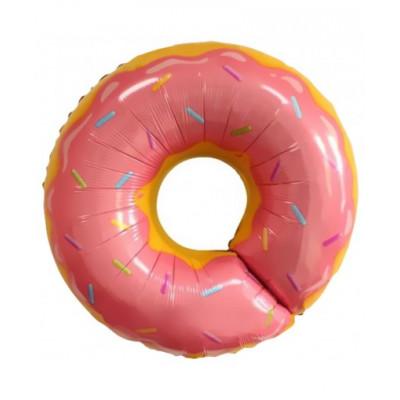 Пончик розовый