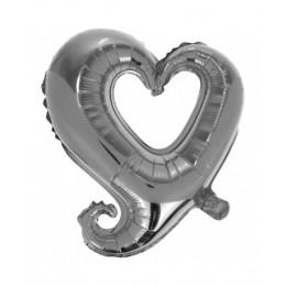 Цепь сердец ( Серебро )