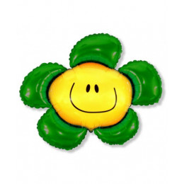 Солнечная улыбка зеленая