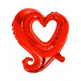 Цепь сердец ( Красная )