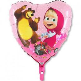 Сердце Маша и Медведь